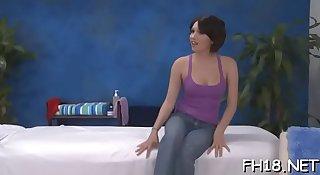Naked massages