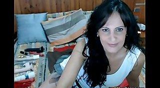 Latin milf webcam show