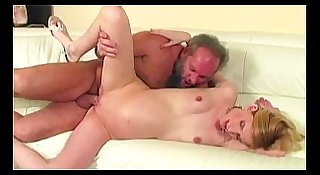 horny old gramps fucks young pussy